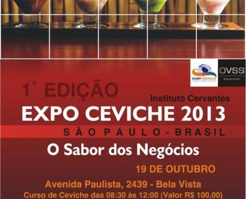 1° EXPO CEVICHE 2013