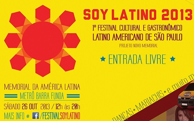 "Festival Cultural ""Soy Latino""."