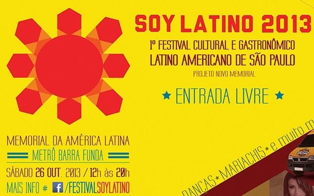 "Festival Cultural ""Soy Latino""."