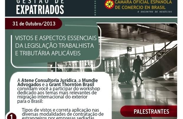 GESTÃO DE EXPATRIADOS: VISTOS E ASPECTOS ESSENCIAIS DA LEGISLAÇÃO TRABALHISTA E TRIBUTARIAS APLICÁVEIS.