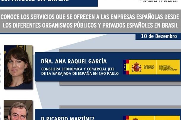 WORKSHOP COM ORGANIZAÇÕES DE ESPANHÓIS NO BRASIL