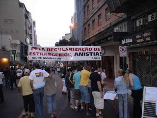 PROJETO SOBRE NOVA ANISTIA PARA ESTRANGEIROS ILEGAIS QUE ENTRARAM NO BRASIL ATÉ JUNHO DE 2013, ESTÁ EM ANÁLISE NO CONGRESSO