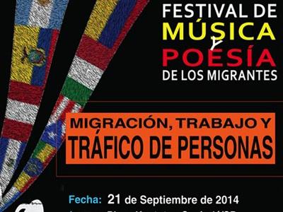 3º FESTIVAL DE MÚSICA E POESIA DOS IMIGRANTES: 21/09/2014