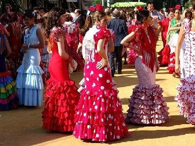 FESTA DE SEVILLA DO CENTRO ESPANHOL DE SANTOS: 11/04/2015