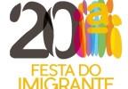 20ª FESTA DO IMIGRANTE: 14, 20 E 21/06/2015