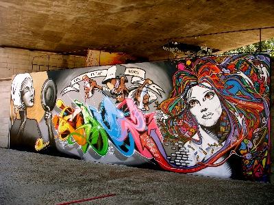 ESTRANGEIROS NA III BIENAL INTERNACIONAL DE GRAFFITI: ATÉ 19/05/2015