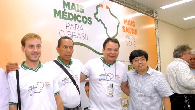 MANAUS, 06/11/2013 PROGRAMA DO GOVERNO FEDERAL MAIS MEDICOS PARA O BRASIL FOTO: JOSE NILDO / SEMSA