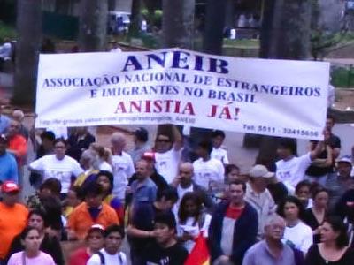 ANISTIA A ESTRANGEIROS É ACOLHIDO NO PROJETO DE LEI DE IMIGRAÇÃO