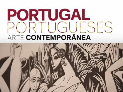 EXPOSIÇÃO DE ARTE CONTEMPORÂNEA – PORTUGAL PORTUGUESES: ATÉ 08/01/2017