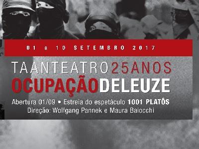 FRANÇA – OCUPAÇÃO DELEUZE: DE 01 A 10/09/2017