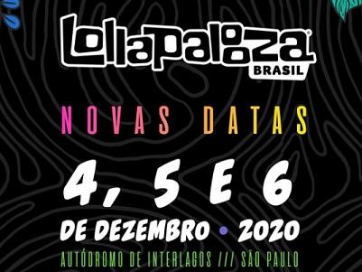ESTRANGEIROS NO LOLLAPALOOZA BRASIL: 04 À 06/12/20